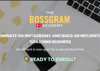 BOSSGRAM Academy by Vanessa Lau