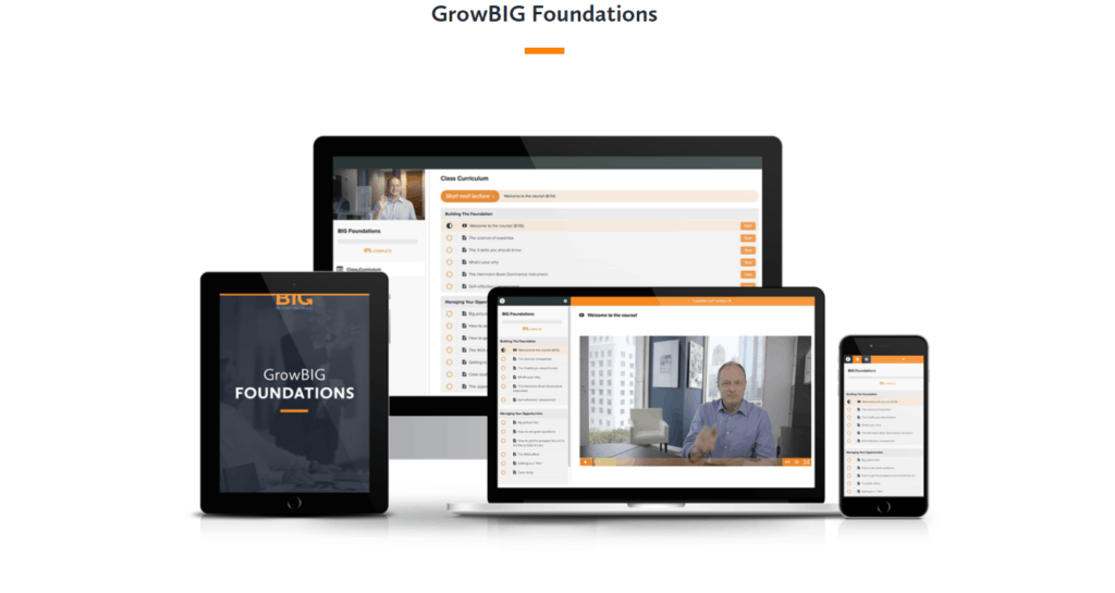GrowBIG Foundations by Mo Bunnell