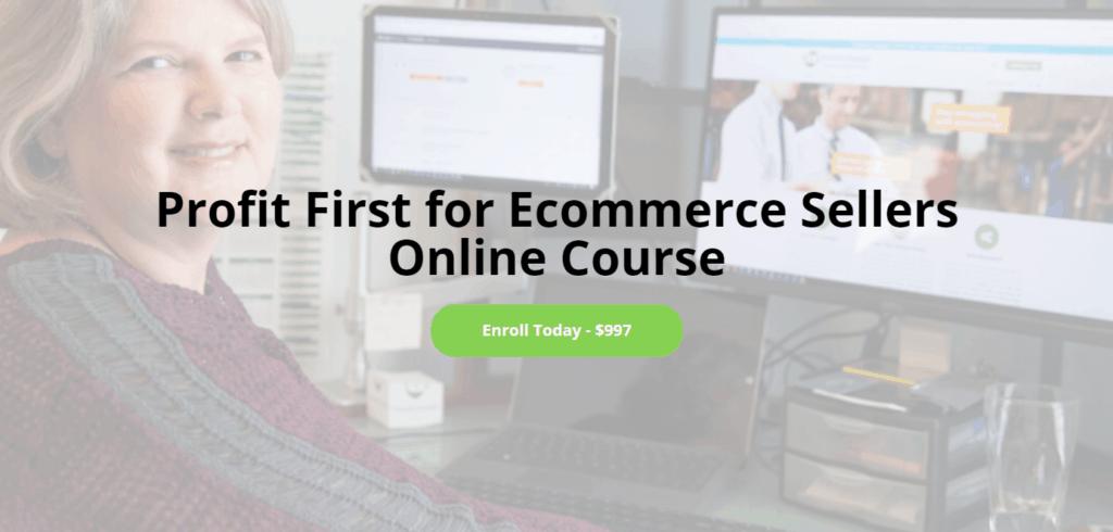 Profit First for Ecommerce Sellers by Cyndi Thomason