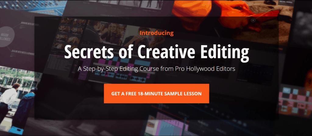 SECRETS OF CREATIVE EDITING by Film Editing Pro