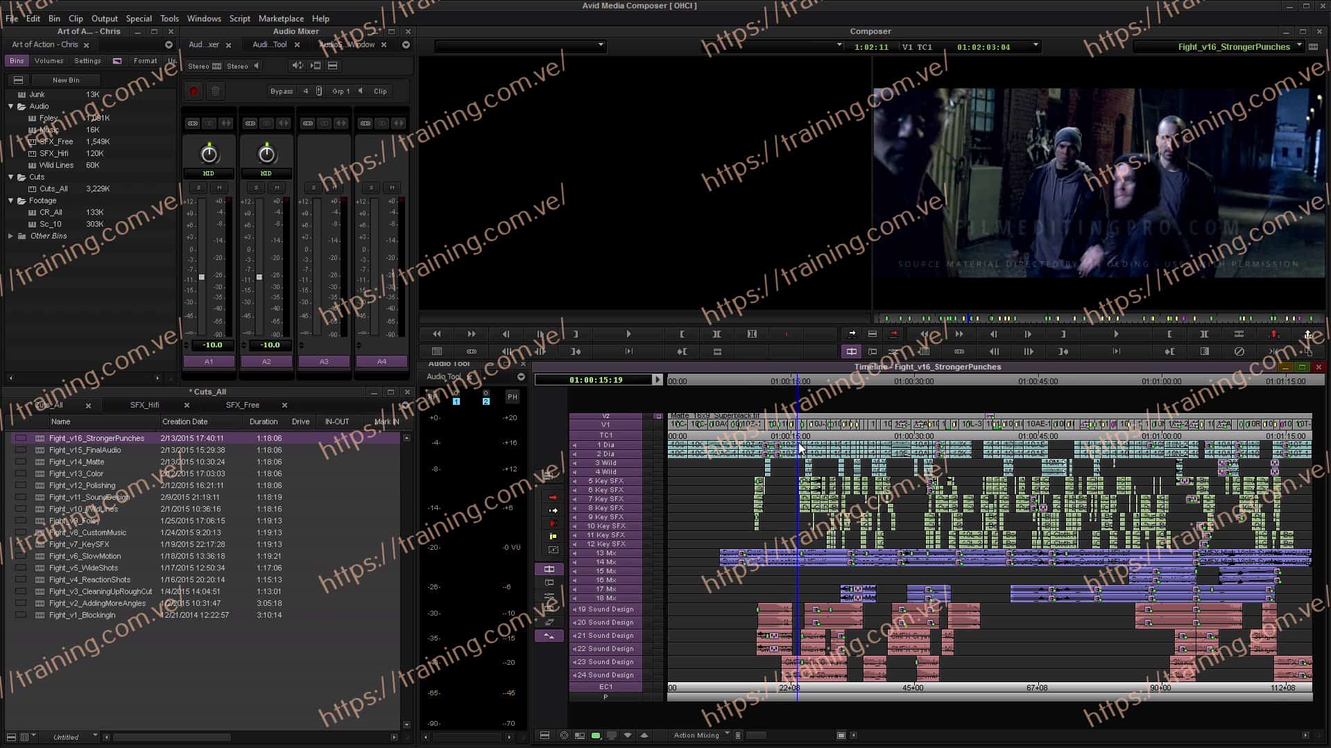 The Art of Action Editing by Film Editing Pro Offer