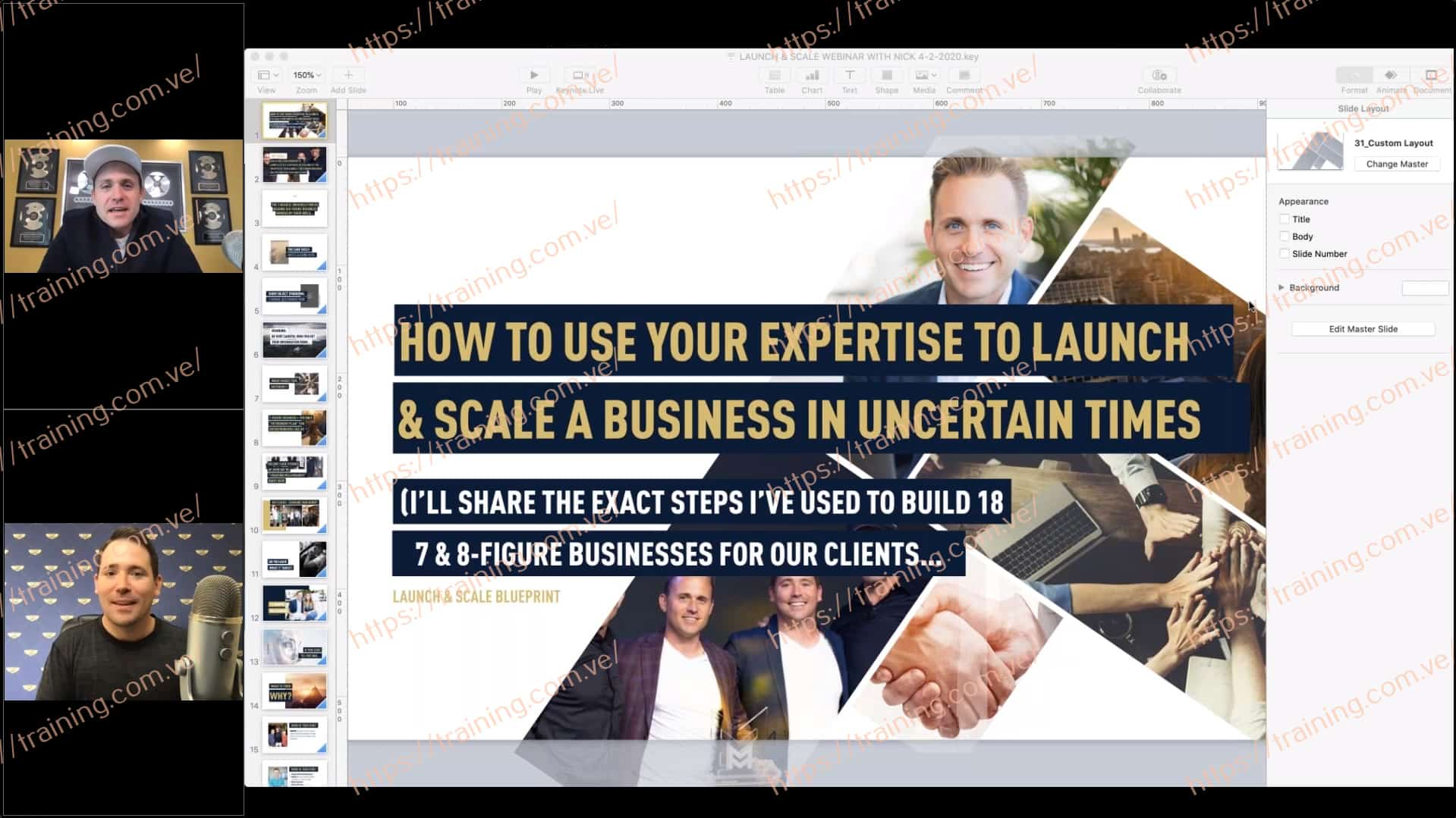 The Launch & Scale Coaching with Bryan Dulaney & Nick Unsworth Sale