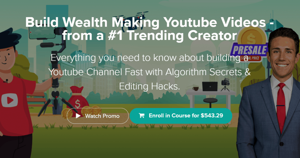 Build Wealth Making Youtube Videos by Kevin