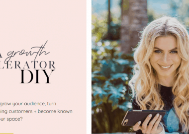 InstaGrowth Accelerator 2020 by Natalie Ellis BossBabe