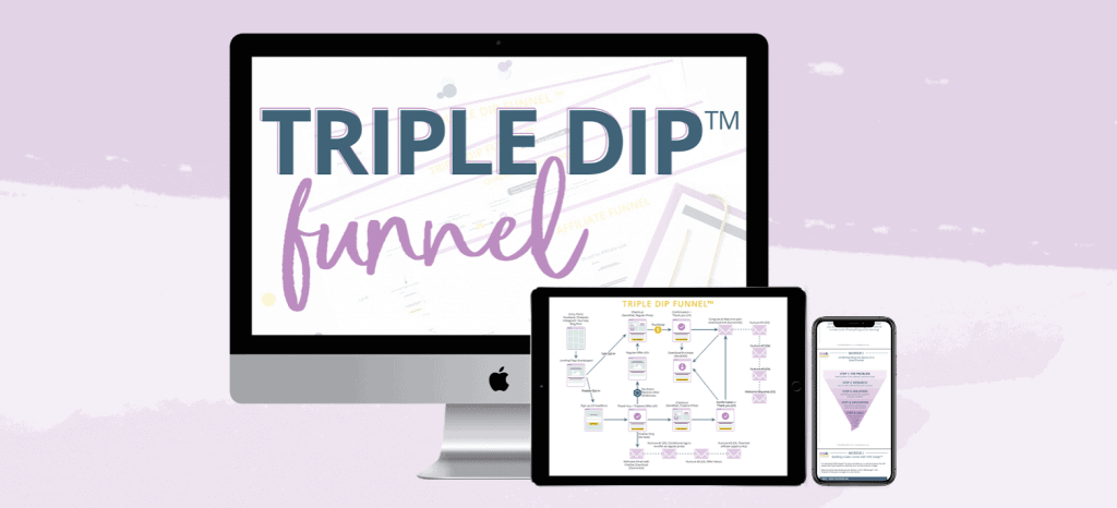 Triple Dip Funnel by Monica