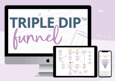 Triple Dip Funnel by Monica